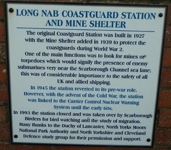 Coastguard notice